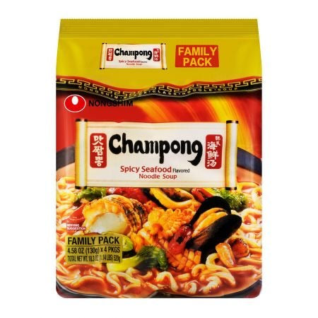 Nongshim Champong Spicy Seafood