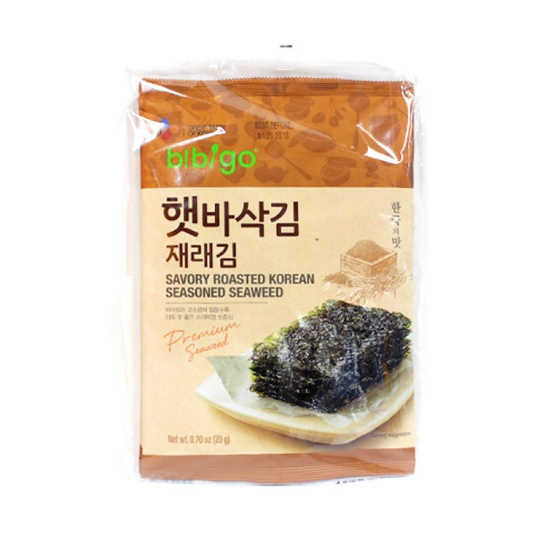 CJ Savory Roasted Korean Seasoned Seaweed