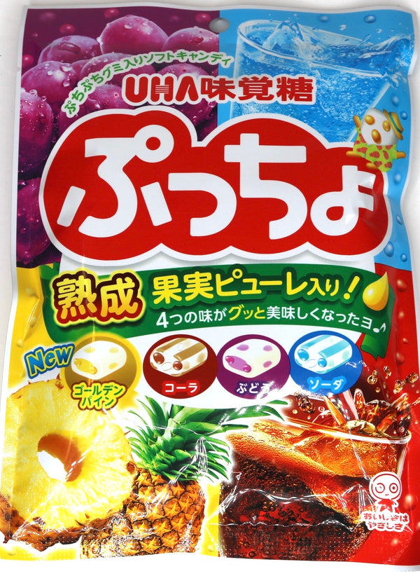 UHA Puccho Fruits & Shuwa Mix