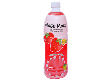 Sappe Mogu Mogu Strawberry Juice - 1L