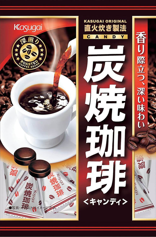 Kasugai Sumiyaki Coffee Flavored Candy