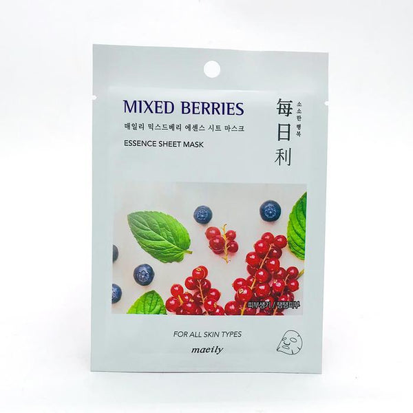Maeily Mixed Berries Essence Sheet. Mask