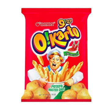Orion O!kart Chilli Chilli Flavor Chips