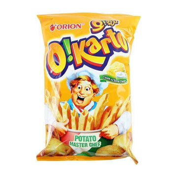Orion O!Kart Cream & Cheese Flavor Chips