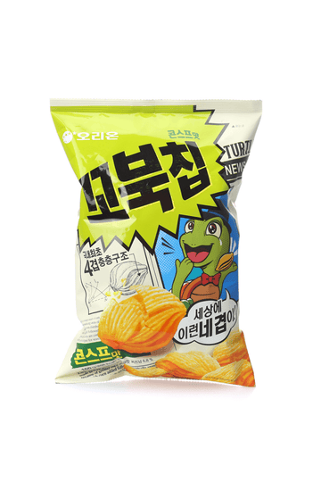 Orion Sweet Corn Flavor Turtle Chips