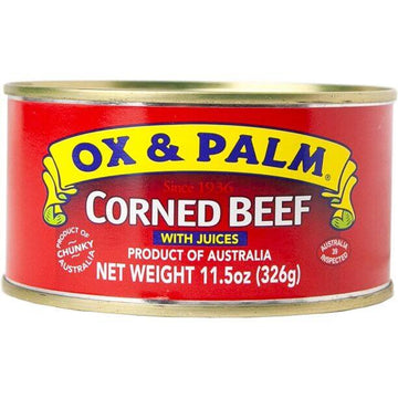 Ox & Palm Corned Beef (11.5oz)