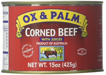 Ox & Palm Corned Beef (15 oz)
