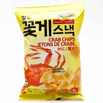 Paldo Crab Flavored Chips