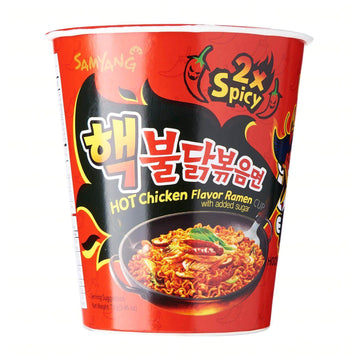 Samyang 2x Spicy Hot Chicken Flavor Ramen Cup