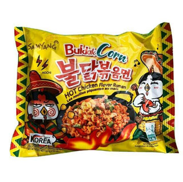 Samyang Buldak Corn Hot Chicken Flavored Ramen - Single