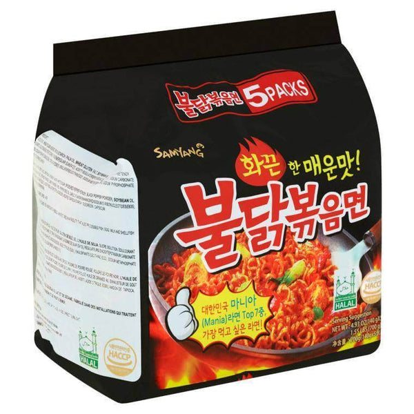 Samyang Hot Chicken Mania Buldak Ramen - 5 Pack