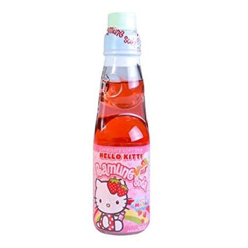 Sanrio Hello Kitty Strawberry Ramune Soda
