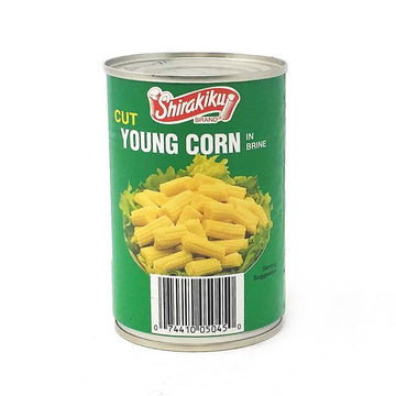 Shirakiku Cut Young Corn Mini