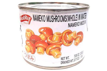 Shirakiku Nameko Mushrooms Whole I water