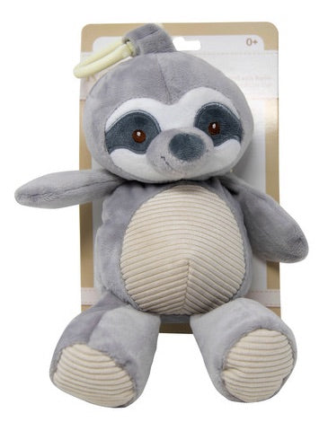 Sloth Plush Rattle - OodlesCB