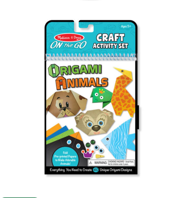 Melissa & Doug On the Go Crafts - Origami Animals
