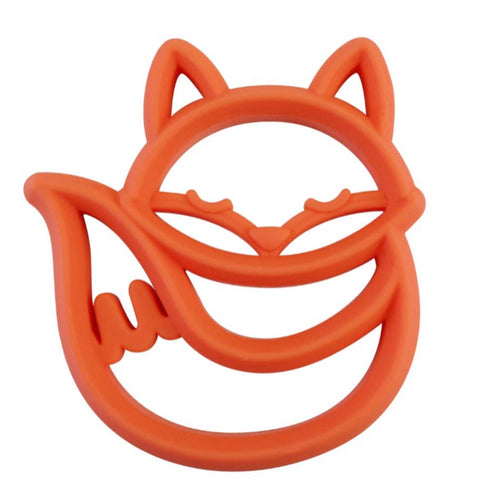 Fox Silicone Teether - OodlesCB