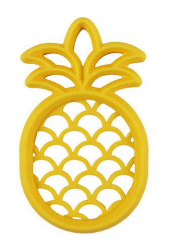 Pineapple Silicone Teether - OodlesCB