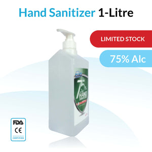 1 Litre Hand Sanitiser Pump- 2 Pack CE / FDA Approved