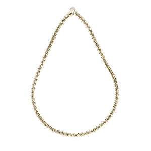 Box Link Chain Necklace