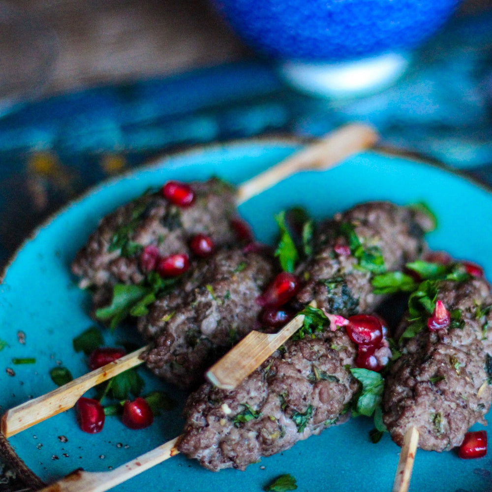 An Easy Crowd-Pleaser: Yoghurt-Marinated Lamb Skewers