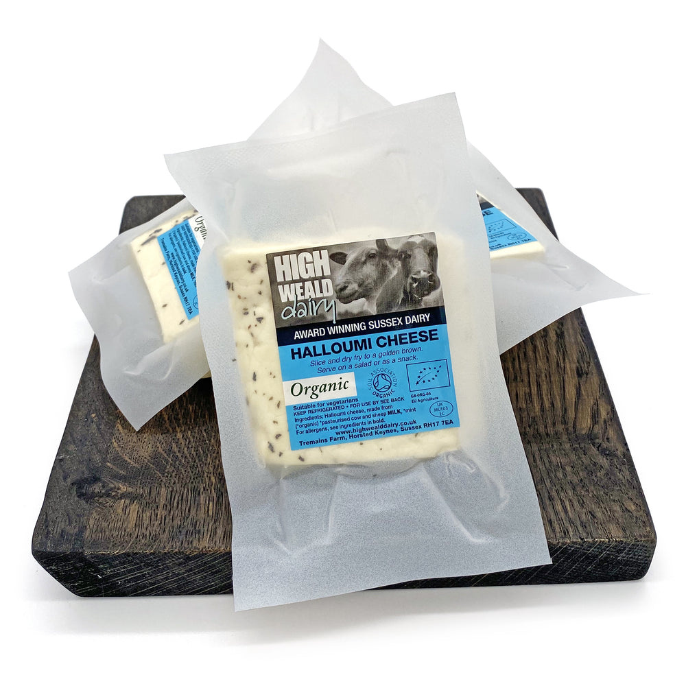 High Weald Dairy Halloumi Cheese 150g