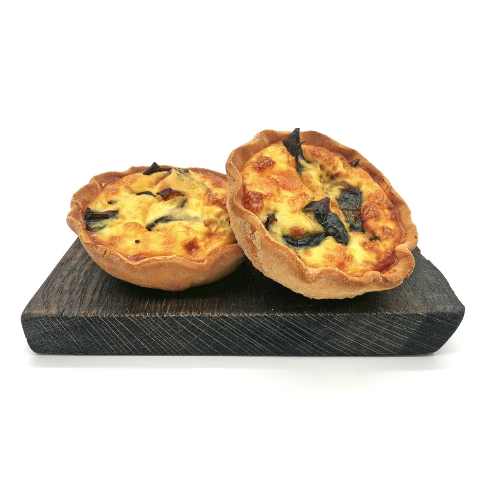 Cheese & Onion Quiche with Wheat Free Pastry