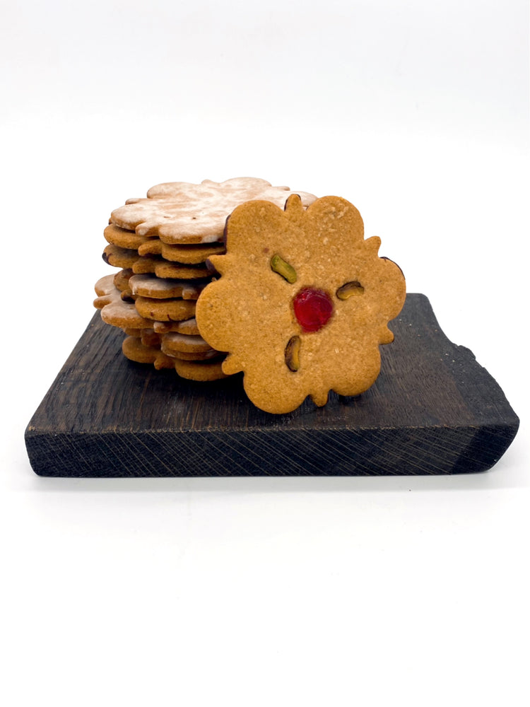 Christmas Spiced Honey Biscuit