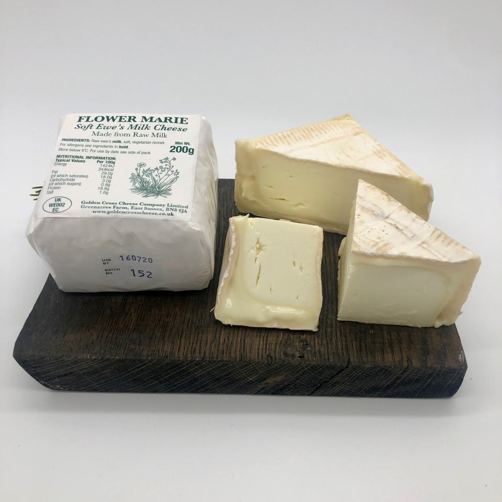 Flower Marie Soft Ewe's Milk Cheese