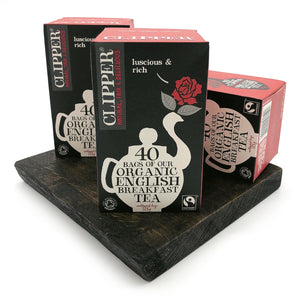 Clipper English Breakfast Tea Bags