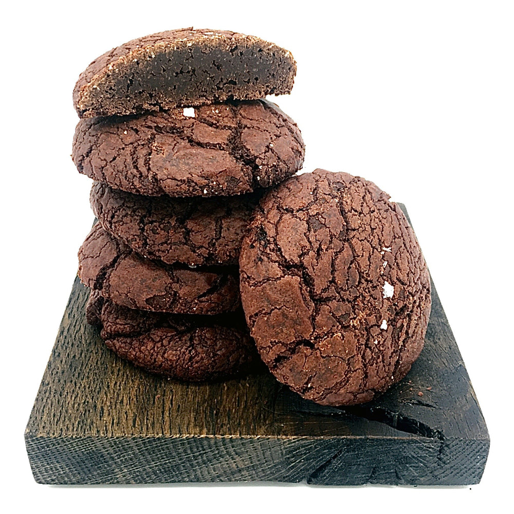 Rye & Salted Chocolate Cookie