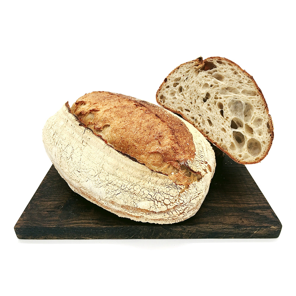 white sussex sourdough half loaf 500g