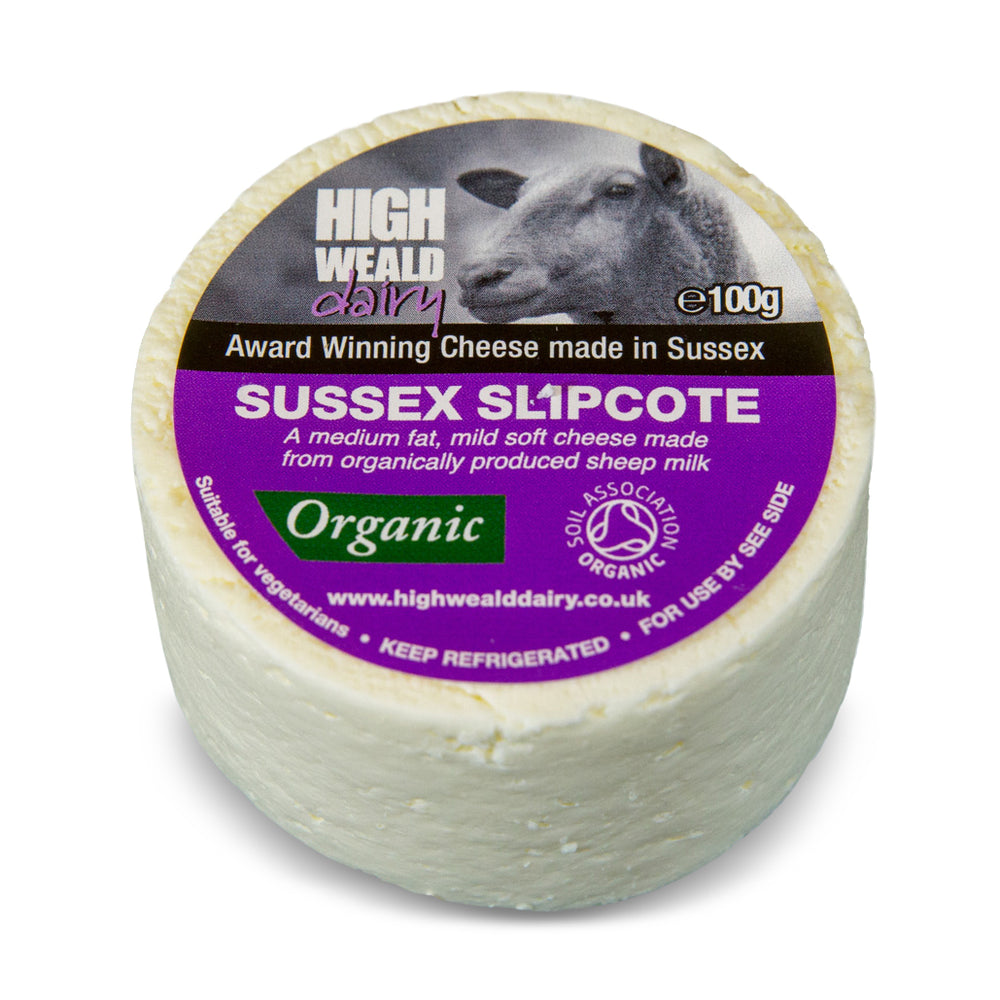 High Weald Dairy Sussex Slipcote Cheese 100g