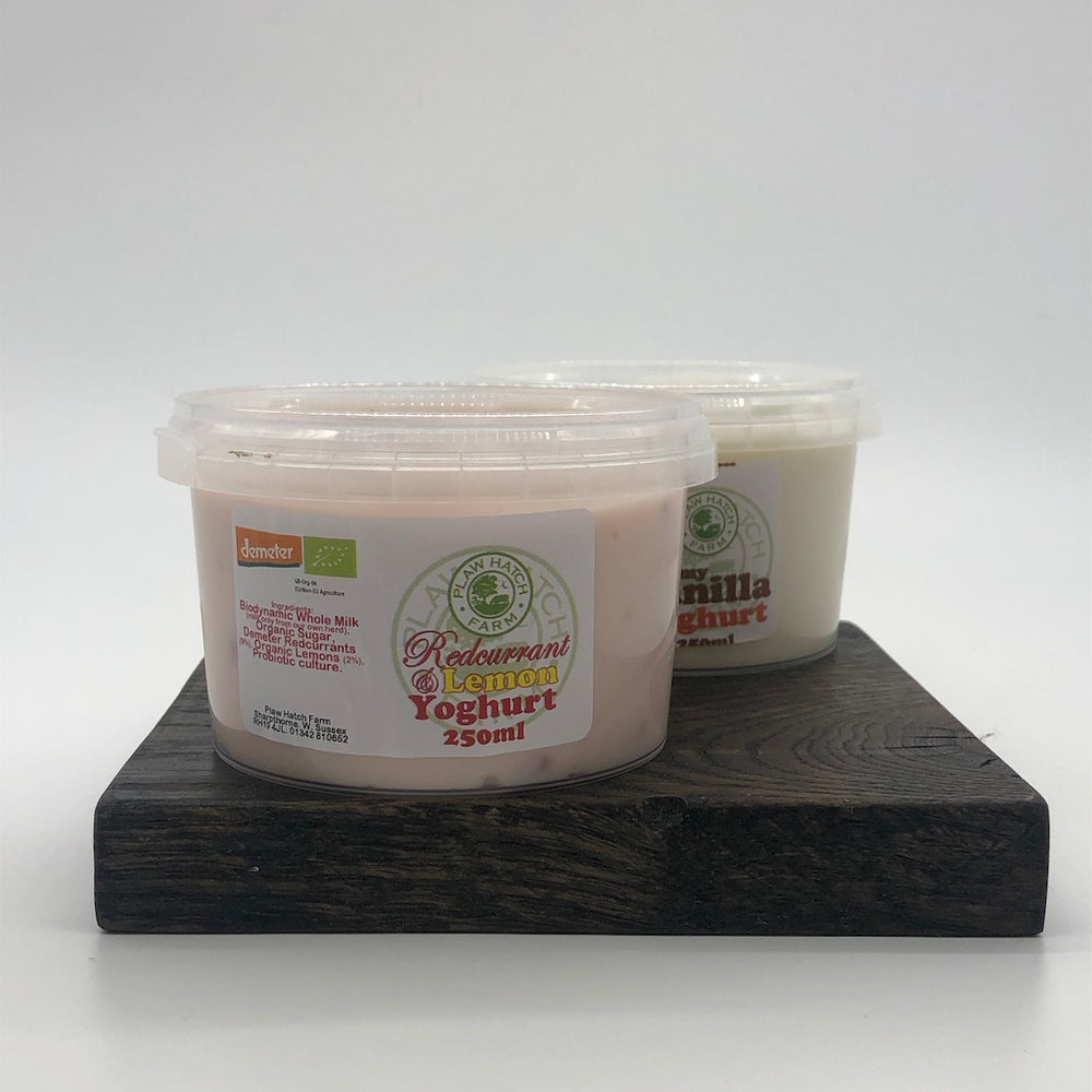 Plaw Hatch Farm Organic Fruit Yoghurt