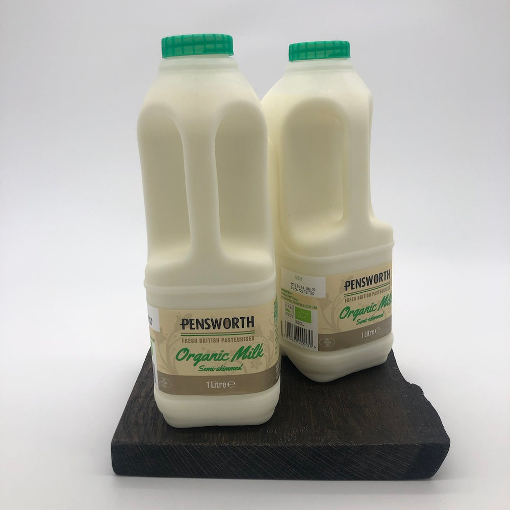 Load image into Gallery viewer, Organics Semi Skimmed Milk 1L