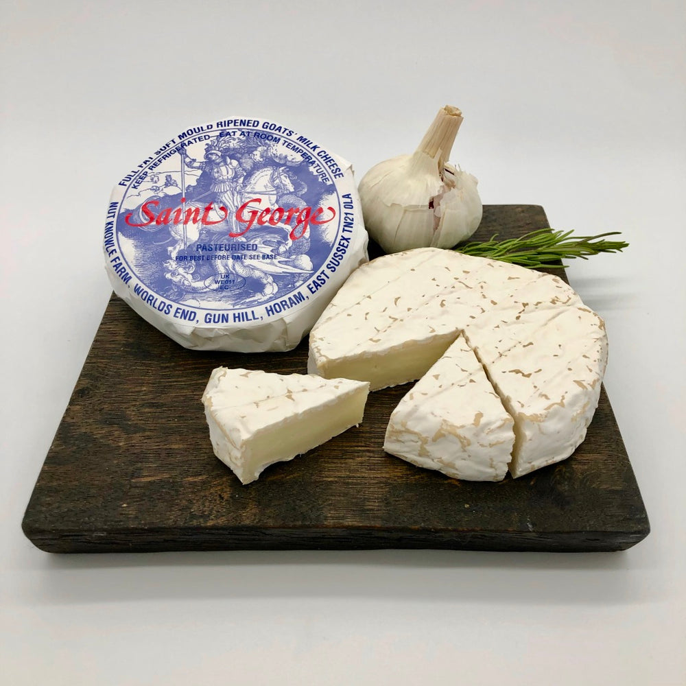 St George Goats Milk Sussex Camembert.