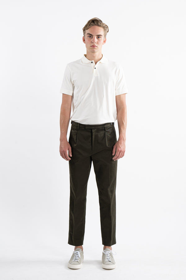 Olive Masco Trousers