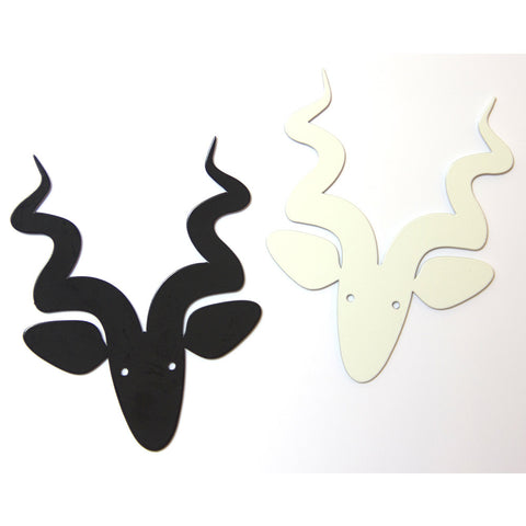 Curly Horn Buck Decorative Magnet
