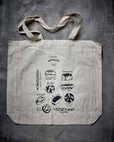 Uprising Calico Tote (Sourdough Design)