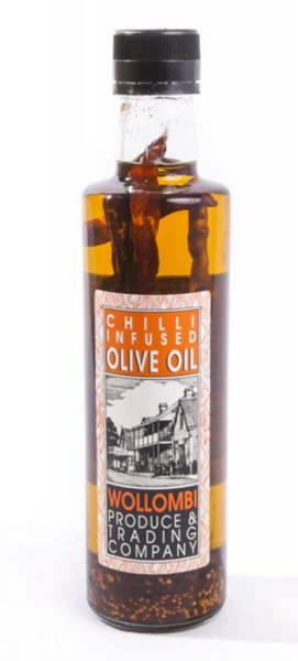 Wollombi Extra Virgin Olive Oil - Flavoured (375ml)