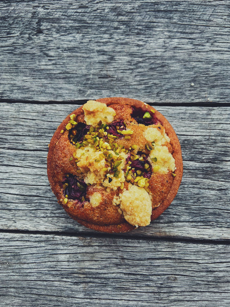 Sour Cherry & Pistachio Tart (Small)