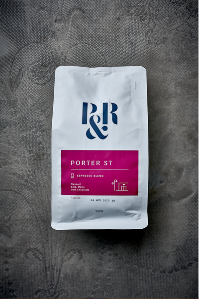 Coffee Beans - Pablo & Rusty's Porter St Blend (250gm)