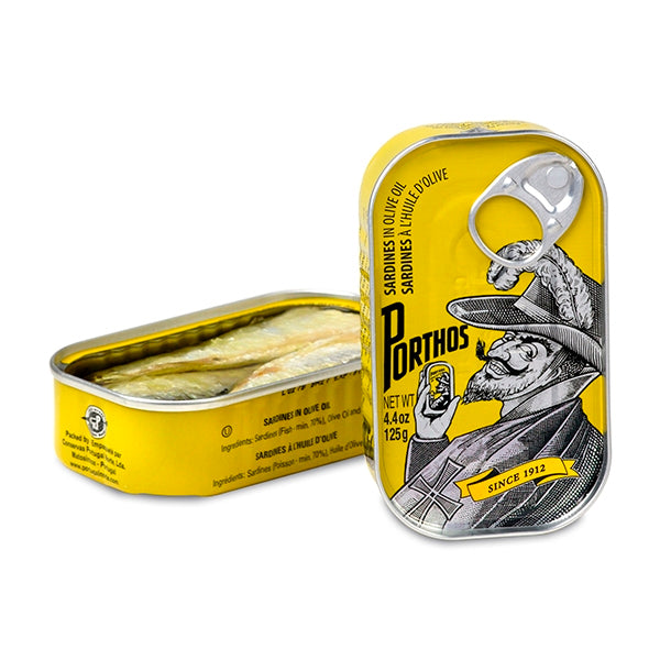 Porthos - Sardines in Olive Oil (125gm)