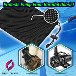 Anti-Clog Pump Shield