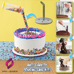 Anti-Gravity Pouring Cake Kit