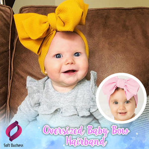 Oversized Baby Bow Hairband