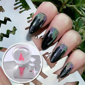 NailDeco+ Shape Stamping Guide