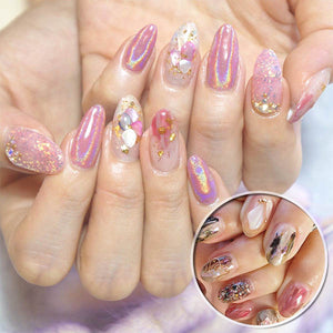 NailDeco+ Shell Nail Art