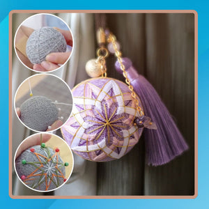 Craft+ DIY Temari Keychain Ball Kit