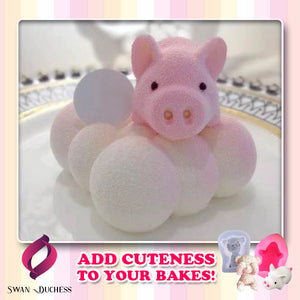 Teddy Mousse Bubble Cake Mold